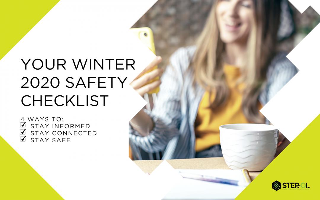 Your Winter 2020 Safety Checklist